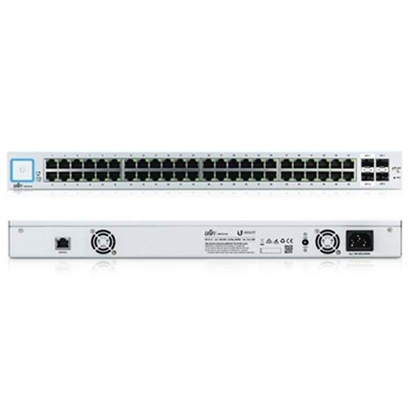 Cabinet Switch UBIQUITI US-48 48xGB 2xSFP 2xSFP+