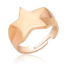 Silver Star Pinky Ring 446508342()