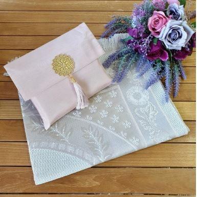 Gift Hajj Umrah Sets Gift Mawlıd  Sets Rugs Prayer Rugs With Slub Brooch And Cotton Taffeta Prayer Rugs