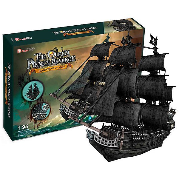 3D puzzle CubicFun Ship queen Anne 'S Revenge anne mather apollo s seed