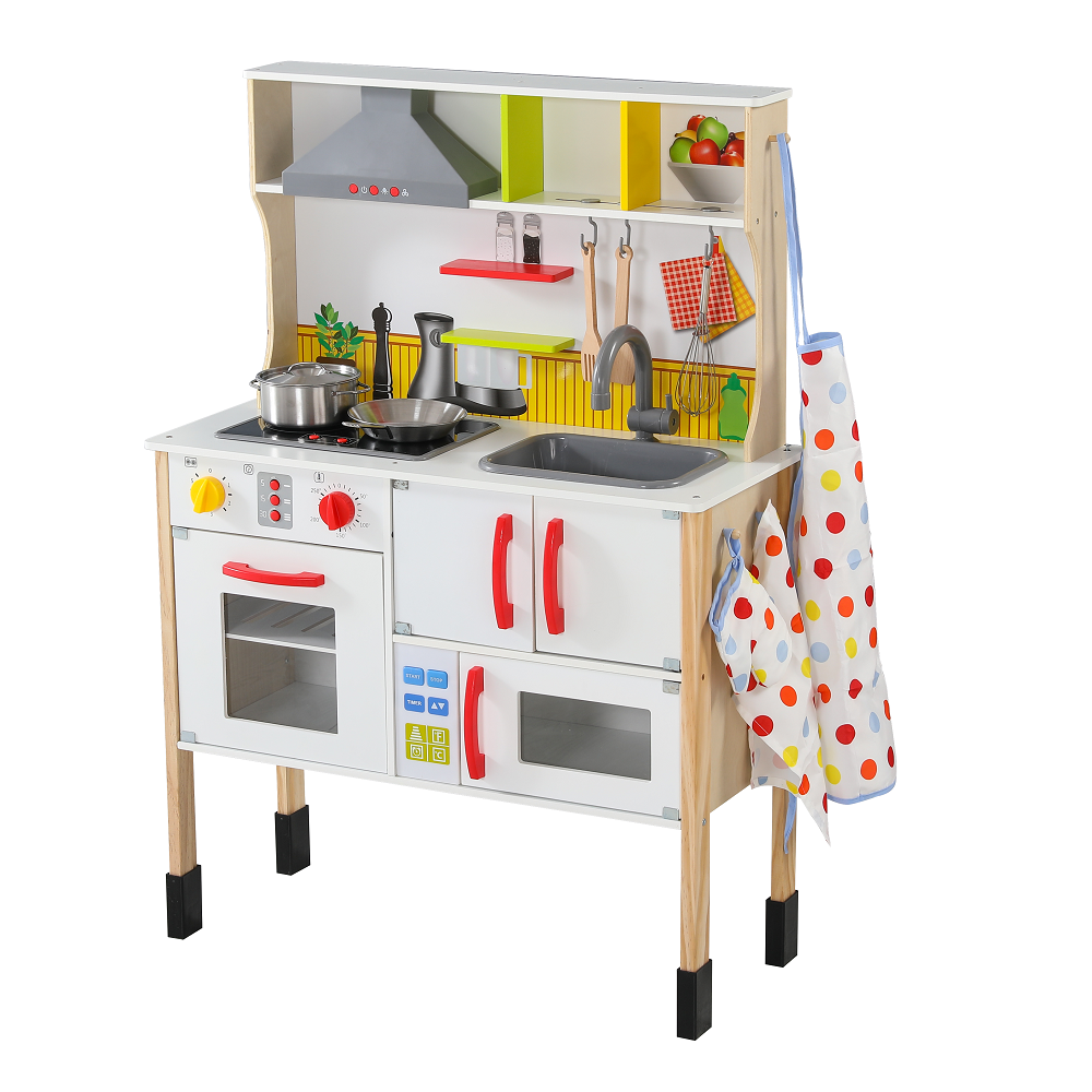 Xiangyu Kidkraft Let S Cook Play Kitchen Multi Function Wooden Kitchen For Kids Baby Seats Sofa Aliexpress