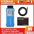 VXDIAG Mini VCI J2534 obd2 диагностические инструменты для Toyota it3 TIS V15 VCX NANO для Lexus диагностика всех систем бесплатное обновление