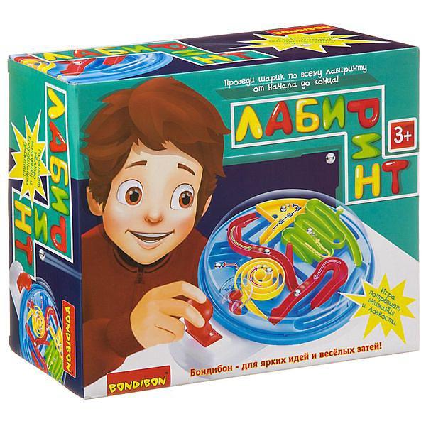 Board Game Bondibon Maze, Joystick (round Box)