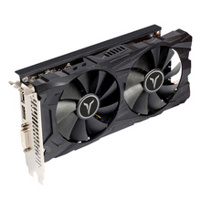 Yeston Radeon RX560D D5 GA GPU 4GB GDDR5 128bit Gaming graphique ordinateur de bureau cartes vidéo DVI-D/HDMI-compatible/DP PCI-E 3.0