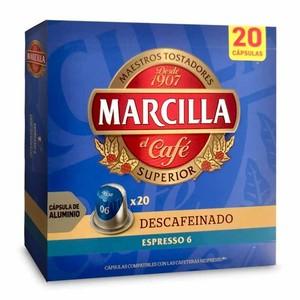 Espresso Decaffeinated Martilla 20 compatible Nespresso aluminium capsules