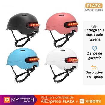 Smart4u SH50, casco de seguridad inteligente, luz LED trasera para bicicleta Scooter,...