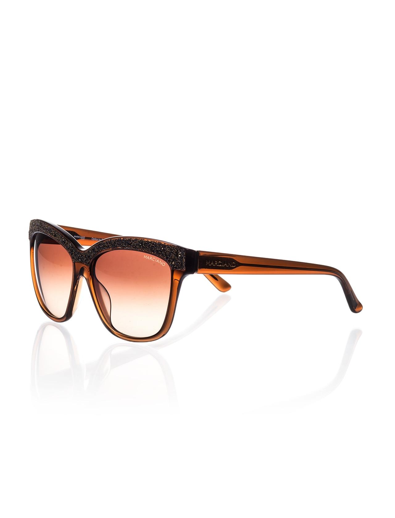 Women's sunglasses gm 729 50f bone Brown organic 57-guess by marcaino