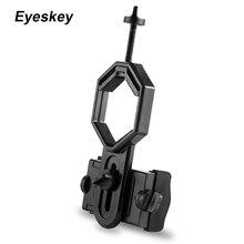 Adaptador Universal para teléfono móvil, Monocular de montaje con Clip, telescopio, soporte para teléfono, ocular D: 25 48mm