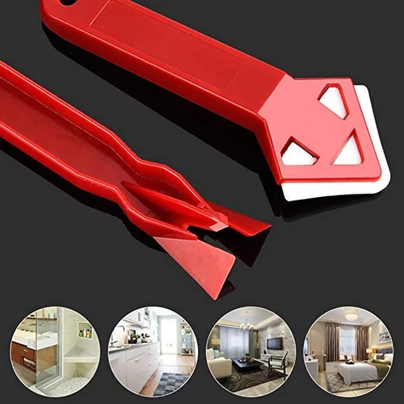 Hot Sale 2 Pieces / set Mini Handmade Tools Scraper Utility Practical Floor Cleaner Tile Cleaner Surface Glue Residual Shovel Hand Tool Sets    - AliExpress
