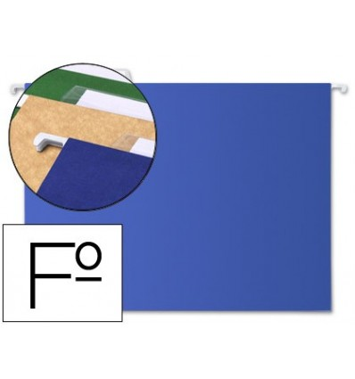 HANGING FOLDER LEADERPAPER FOLIO BLUE 10 Pcs