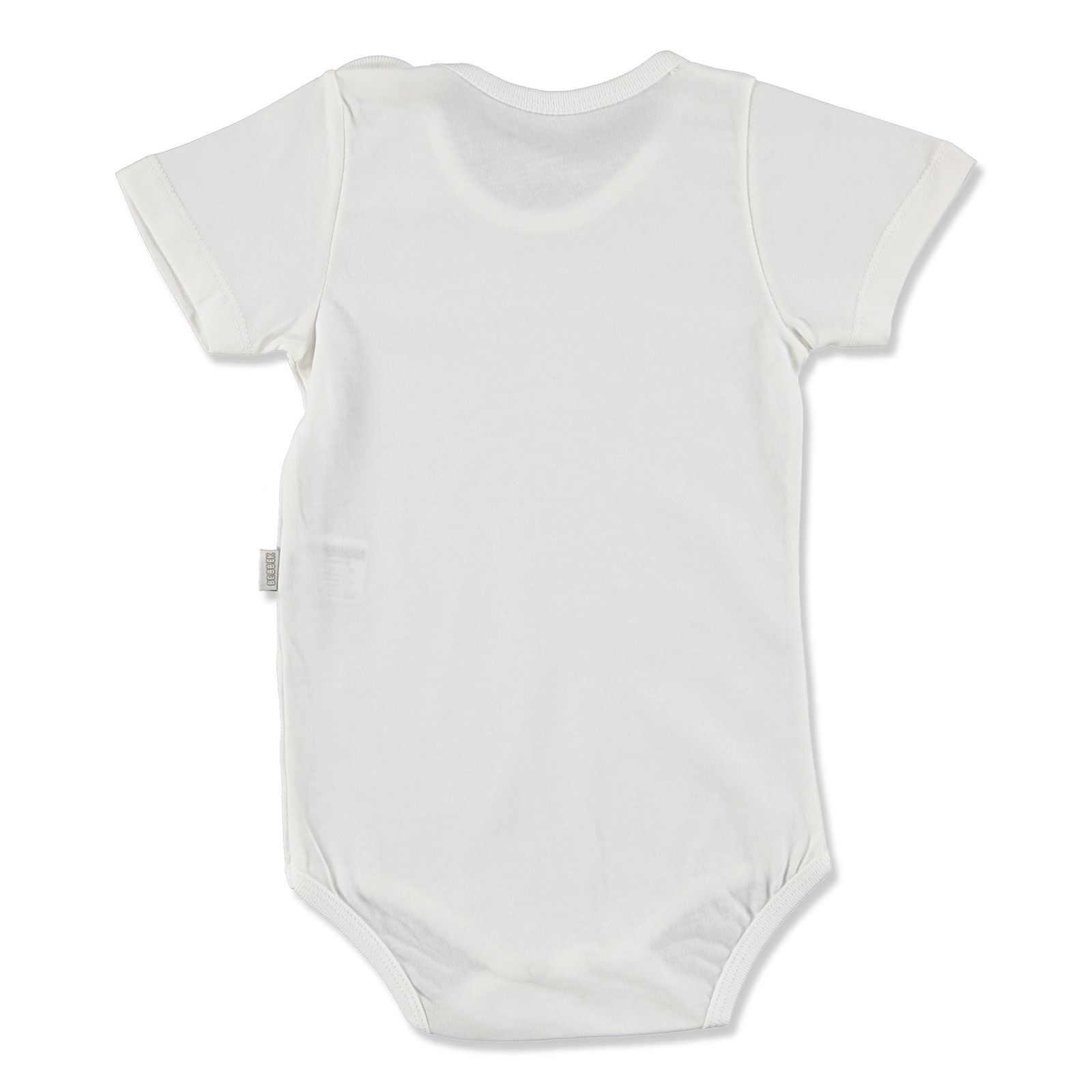 Ebebek Bebbek ฤดูร้อนเด็กทารก Super CREW-คอ Bodysuit