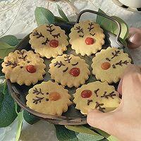 """#美食说出""""新年好""""#麋鹿苏打饼干&雪人巧克力奶的做法图解9"""