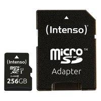 Mikro SD hafıza kartı adaptörü INTENSO 3423492 256 GB siyah