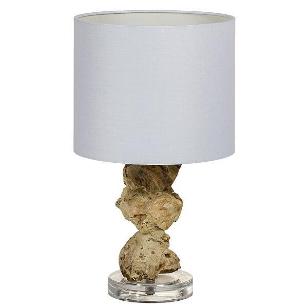 Desk Lamp Acacia (24 X 24 X 47 Cm)