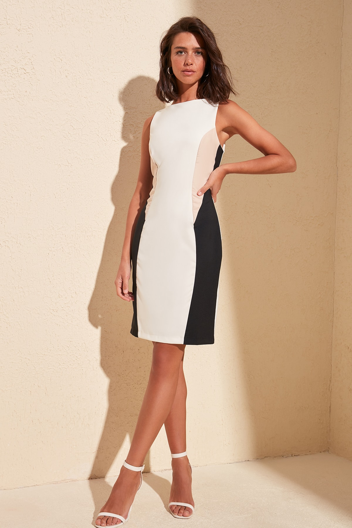Trendyol With Color Block Dress TWOSS20EL0557