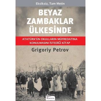 Białe lilie-książka Grigoriy Petrov 'Turkish' tanie i dobre opinie Koridor Yayıncılık TR (pochodzenie) Dla dorosłych