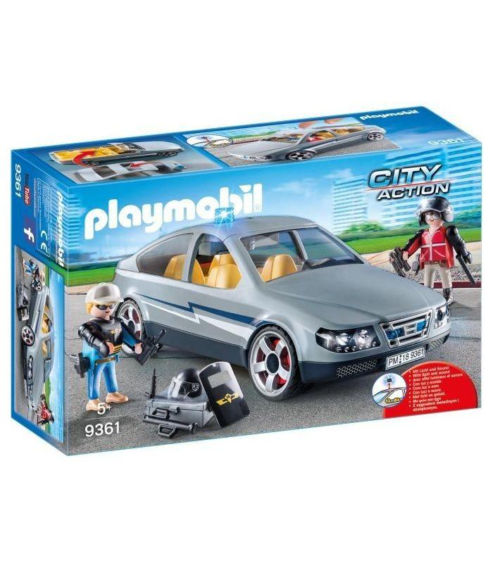 9361 Playmobil Car Civilian Special Forces Toy Store Articles Created Handbook