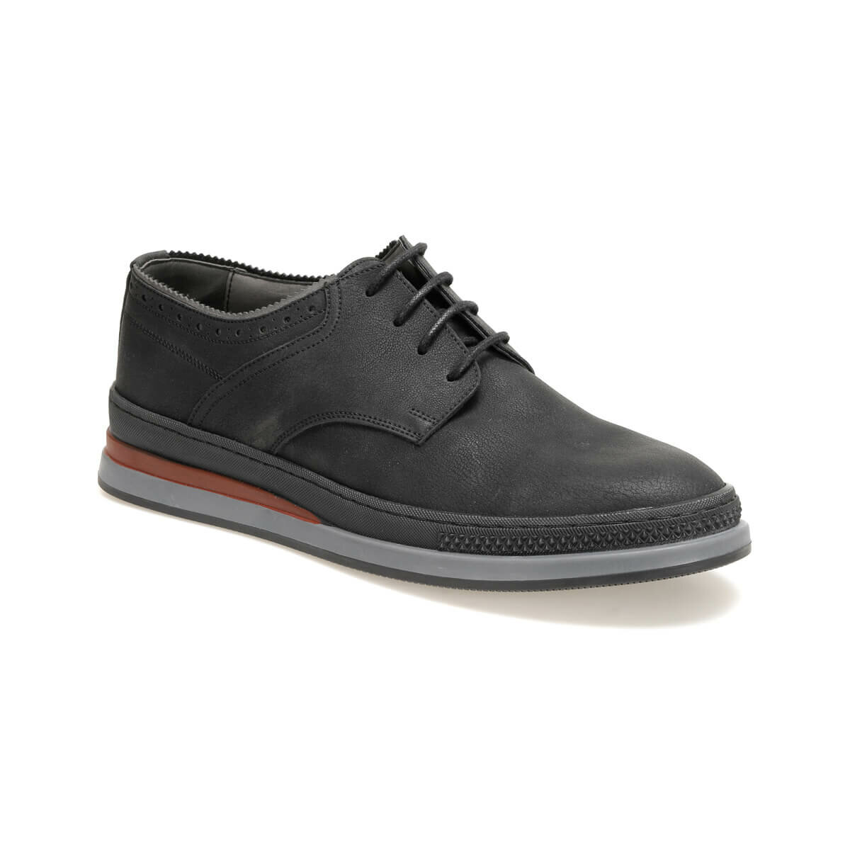 FLO 81113-2 Black Men 'S Classic Shoes JJ-Stiller