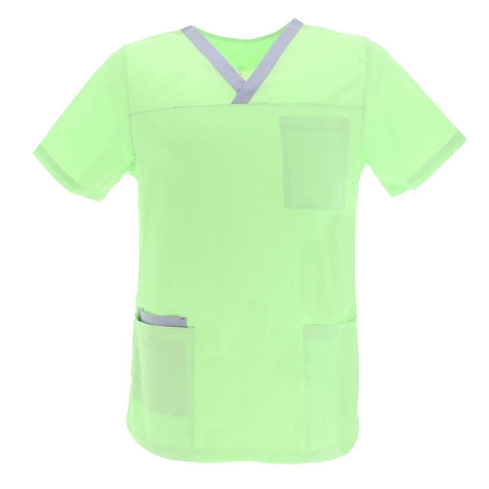 UNISEX MEDICAL JACKET NURSE UNIFORM CLEANING LABOR AESTHETIC DENTIST VETERINARY SANITARY HOTEL-Ref. G713