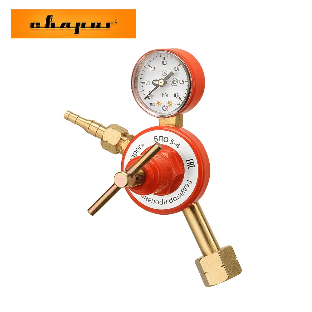Reducer пропановый Svarog БПО 5-4 For The Reduction And Regulation Of Gas  Maintaining A Constant Operating Pressure Accessory For Welding