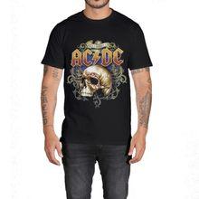 Herrenmode T-Shirt AC/DC Höllen Glocken Punk Rock Kurzarm T Shirts Casual Sommer Kleid Gedruckt Tops