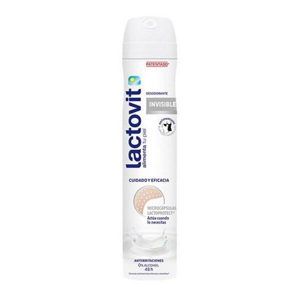 Spray Deodorant Invisible Lactovit (200 Ml)