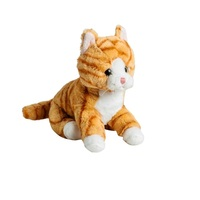 Stuffed & Plush Animals MOLLI Soft toy Cat red 20 cm for kids games for boys and girls for children soft toys soft plush animals