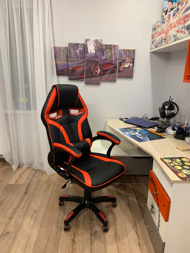 Computer game chair SOKOLTEC-in Office Chairs from Furniture on AliExpress