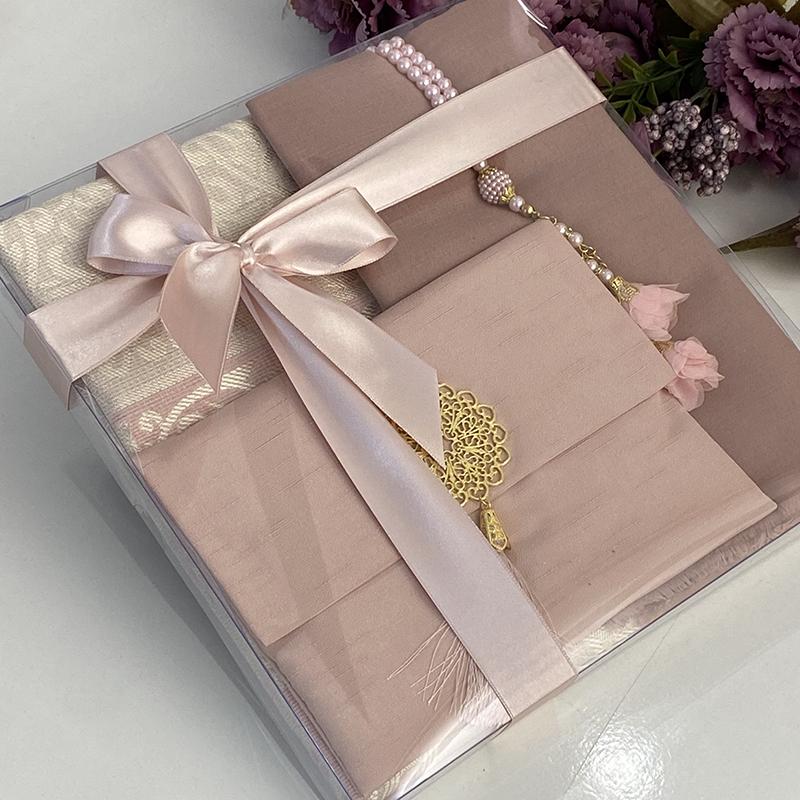 10 Pcs Islamic Set Velvet Yaseen Favors Prayer Beads Tasbih Quran Arabic Koran Muslim Wedding Ramadan Eid Gift Sajadah