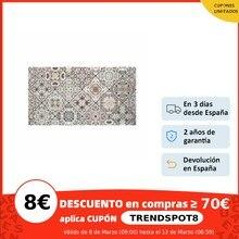 Cabeceros Relax&Wood, Cabecero decapado 'Mosaico vintage' - 90x80cm - 200x80cm, madera, decoracion, hecho a mano