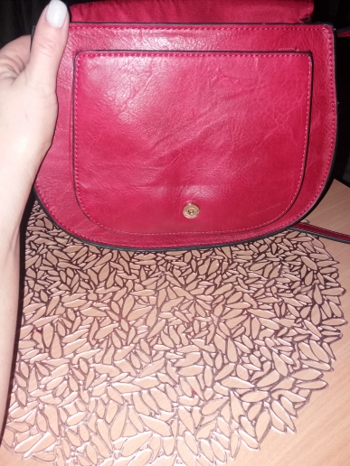 Sac Raphaelle rouge - Petit photo review