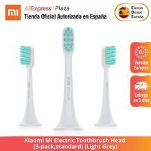 Xiaomi – tête de brosse à dents électrique Mi standard, gris clair, 3 paquets