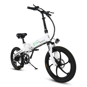 Electric bicycle 20 inche 350W electric folding bike 48V10A lithium battery city bike road bike ebike European warehousing
