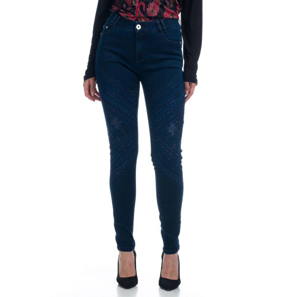 KOROSHI PANT LONG REGULAR DENIM ELASTICO WOMAN