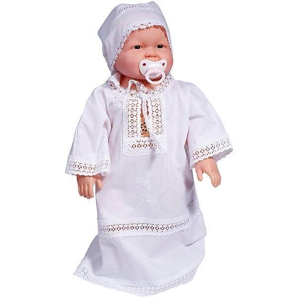 """Крестильная рубашка """"Эдельвейс"""", поплин"""