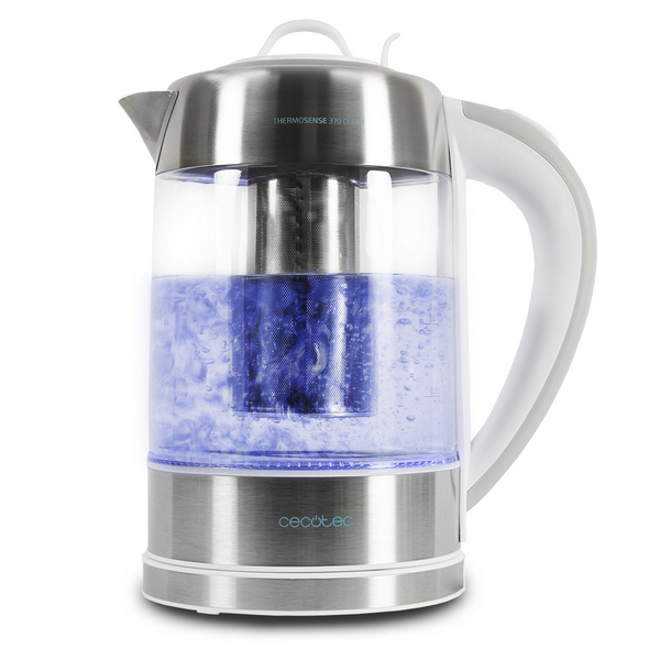 Kettle Cecotec ThermoSense 370 Clear 2200W 1 7 L|Electric Air Pots|   - title=
