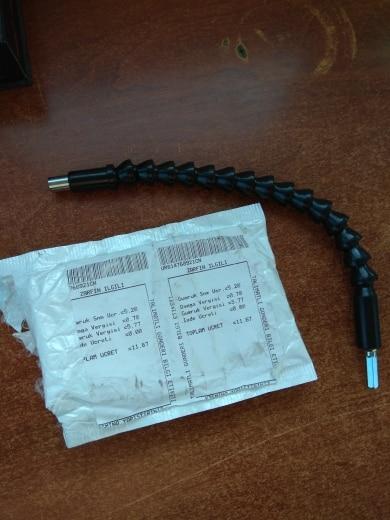 295mm Flexible Shaft Hex Flex Electric Drill Universal Shaft Extention