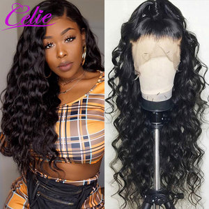 Image 2 - Celie Loose Deep Wave Wig 28 30 Inch Lace Front Human Hair Wigs For Black Women 360 Lace Frontal Wig PrePlucked Human Hair Wigs