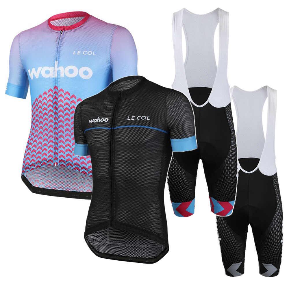 2020 New Road MTB Cycling Mens Jersey Bibs Shorts Kits Short Sleeve Clothing Set