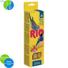 Рио Палочки с медом для волнистых попугайчиков и экзотов 2х40г