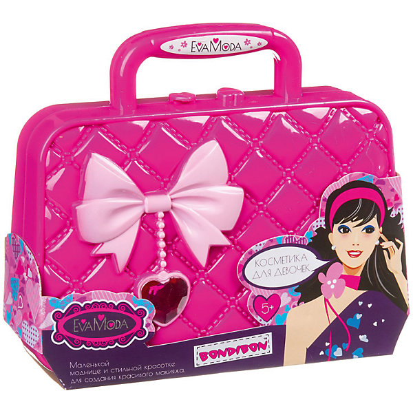 Set Of Decorative Cosmetics Bondibon Eva Moda Bag Handbag With A Bow