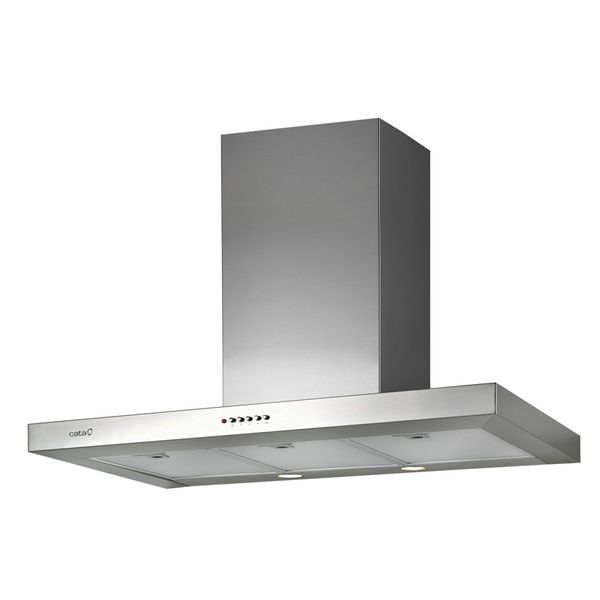 Conventional Hood Cata SPLUS900 X 90 Cm 645 M3/h 72 DB 270W Stainless Steel