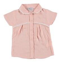 Ebebek HelloBaby/текстурная рубашка для маленьких девочек