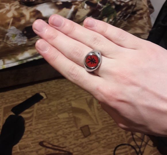 Naruto Akatsuki Cosplay Rings photo review
