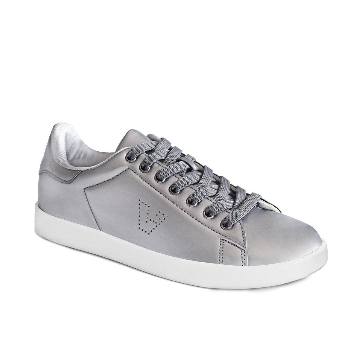 FLO 313. G19K. 201 Silver Female Child Sneaker Shoes VICCO