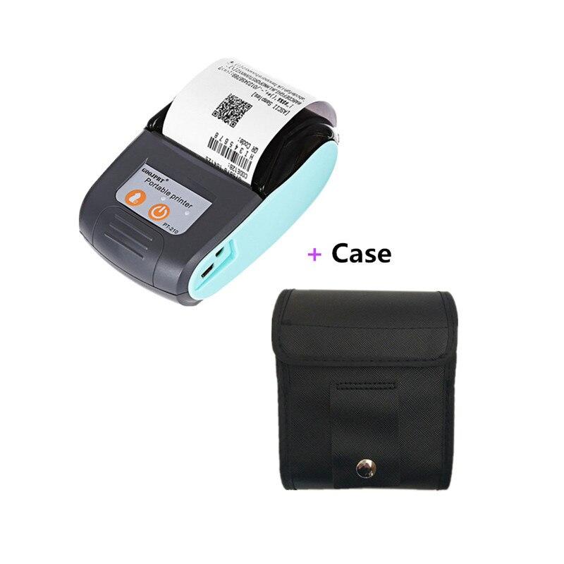 GOOJPRT Tragbare Thermische Empfang Drucker Drahtlose Bluetooth Drucker für iOS und Android 58mm USB Thermische Drucker Lager Taxi