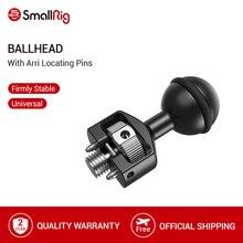 BallHead com Pinos de Fixação Para Montar Câmera Arri SmallRig/Monitor de Gaiola Com a Localização dos Pontos de Arri 2114