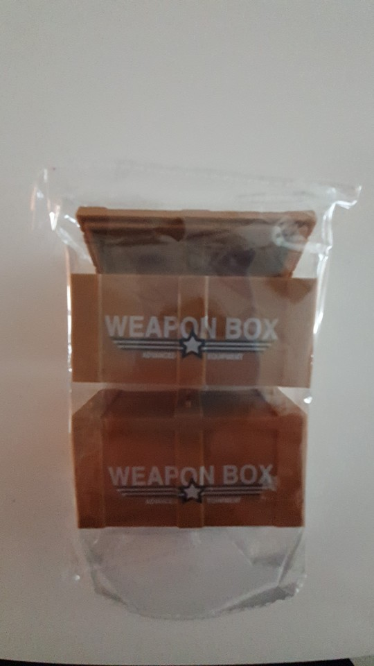 Compatible Weapon Box Mlitary Base Building Blocks Army Soldier Pack Case Chest WAT Team MOC Accessories Brick Toys For Children photo review