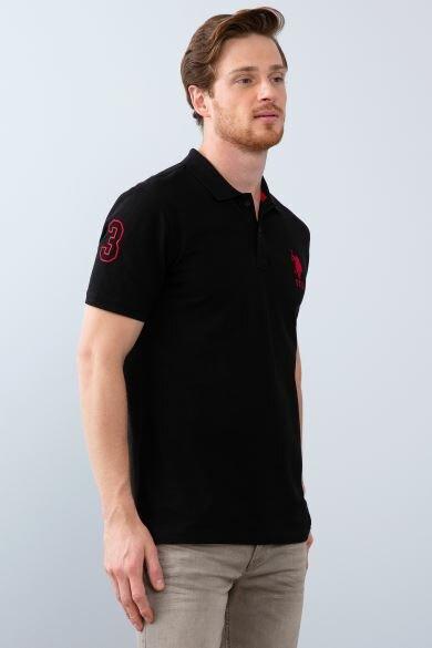 U.S POLO ASSN. Polo Neck Slim T-Shirt