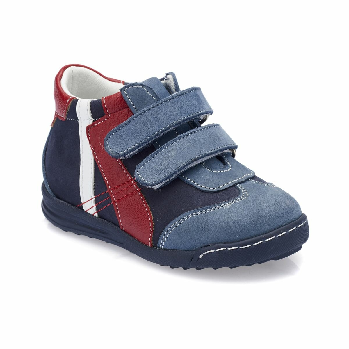 FLO 82.510898.I Navy Blue Male Child Boots Polaris